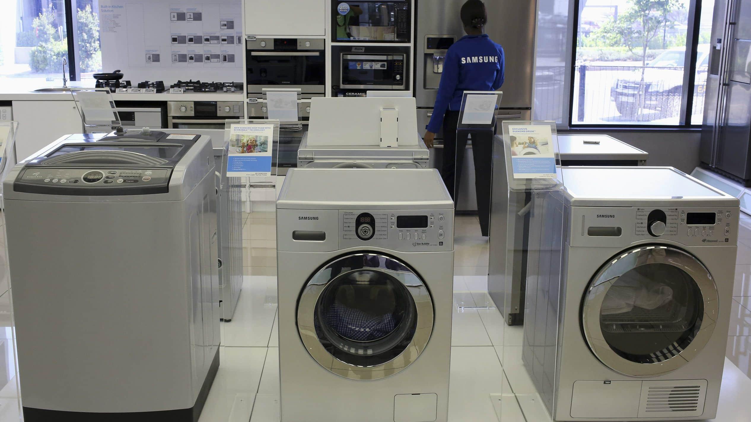 file photo-samsung-washing-machines