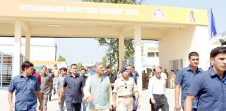 page3news-Chief Minister Trivandrum Singh Rawat inspected the preparations for the investors summit.