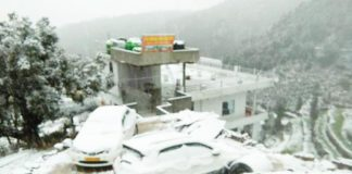 page3news-Snowy view in the mountainous area