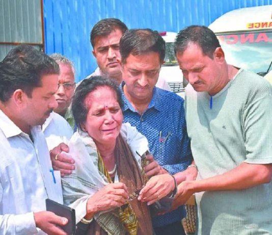page3news-Ujjwala Tiwari said There was tension between