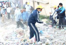 page3news-Running Cleanliness Campaign