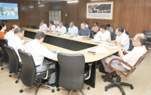 page3news-Chief Secretary Utl Kumar Singh while taking a review meeting through video conferencing