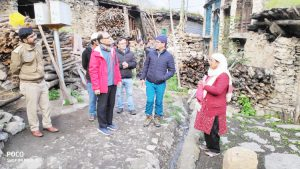 page3news-Chief Secretary inspected the development works