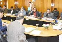 page3news-CM Trivendra Singh Rawat holding review meeting