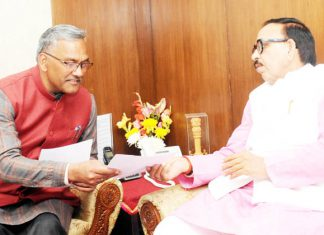 page3news-CM meeting with Union Minister for Skill Development and Entrepreneurship, Dr. Mahendra Nath Pandey